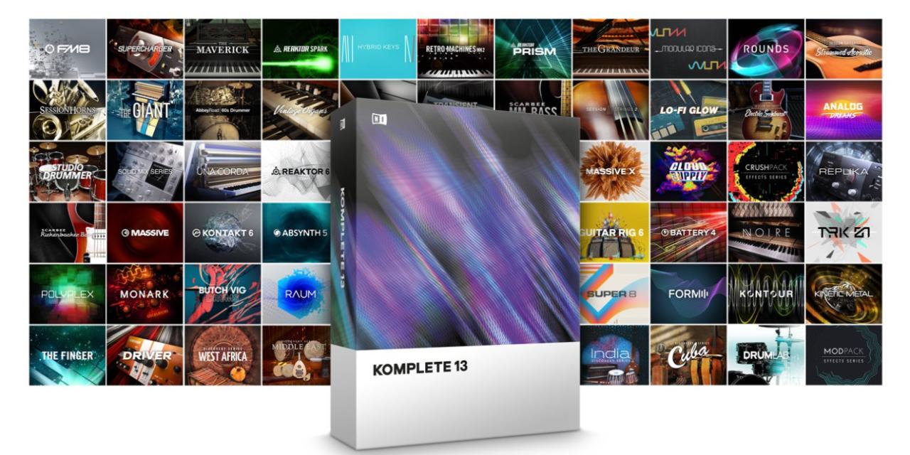 KOMPLETE 13 Bundle – Native Instruments Leading Production Suite